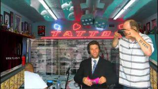Real_Justin - Battlecam.com Upper Lip Tattoo