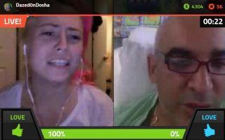 Alki asks Dazed0nDosha about her gap in her teeth on Battlecam.com