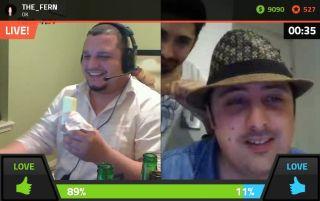 The Ferns  FAILED Eating A Stick of Butter Challenge on Battlecam.com