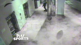 Ray Rice Punches Girlfriend in Elevator