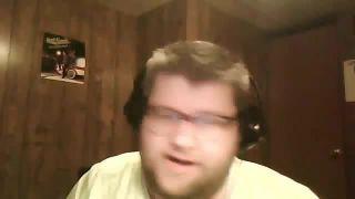 Chris_Bama - Cuts His Face With a Razor on Battlecam.com