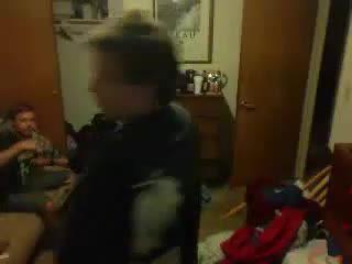 Wowie aka Thirst - Lights Hair, Crotch, and Butt on Fire on Battlecam.com