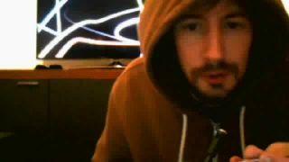 Harry Balzac  Does The Cinnamon Challenge on Battlecam.com