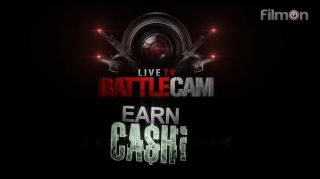 Crusin Calls Justin Out  Live on TV on  Battlecam.com P1
