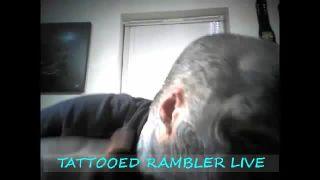 Tattooed_Rambler - Puts Cut off Ear in His Mouth on Battlecam.com