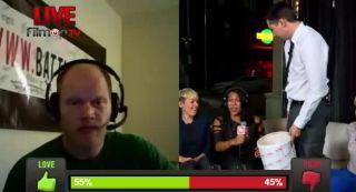 Battlecam.com Live - Messi's Bucket of Liquid Ice Cream Challenge