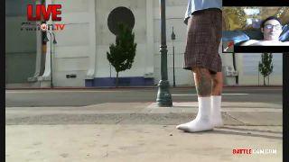 Ruen Fakes a Seizure in Public for Alki.. on Battlecam.com