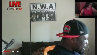 """Alexxx8 Sings """"You Ain't Nothing But A WhoreDawg"""" to Vikki.. on Battlecam.com"""