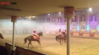 Horse Drags Performer to Death