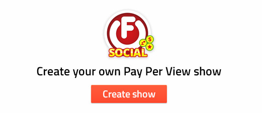 Create your own PPV show