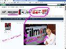 Filmon ad irony