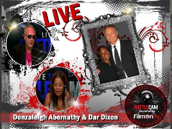 Donzaleigh Abernathy and Dar Dixon