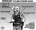 LAPD IS THE REAL STREET GANG