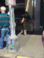 Fantastic musician at Pike Place in Seattle, Wa.!