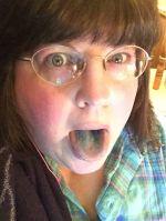 blue popsicle  :P ~~