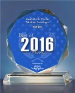 2016 PSYCHIC ASTROLOGER AWARD in BUSINESS