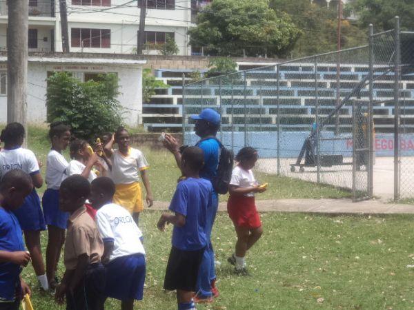 WBA and DHL Basketball Learn To Train Workshop 2