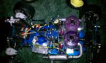 CUSTOM 7TH SCALE LOSI/EXCEEDFRAMES TWO 28. 3.5 MOTORS NITRO POWERED BEAST