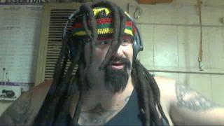 Big-Chaos Smokes his Fake Dreads on Battlecam.com