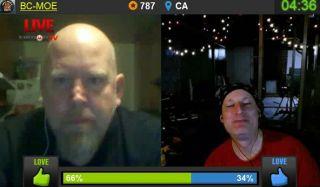 HogSlammer gets trolled by BCM on Battlecam.com