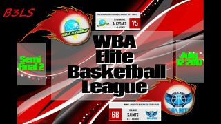 Eltie Basketball League Semi-Final 2 with Various Artistes Juggling