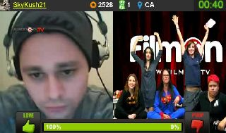 Sam Phillips Pajama Party LIVE on Battlecam.com  10-25 - 9.