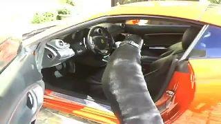 Driving Mr. Satan